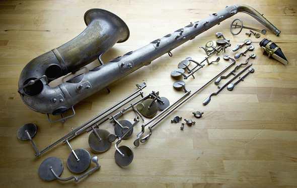 История создания саксофона