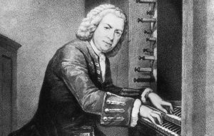Иоганн Себастьян Бах за органом