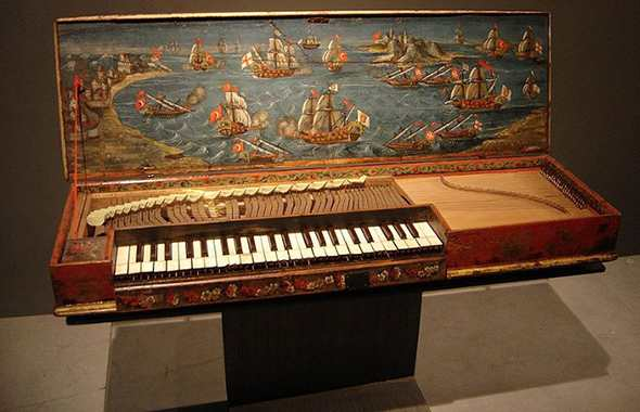 История клавикорда
