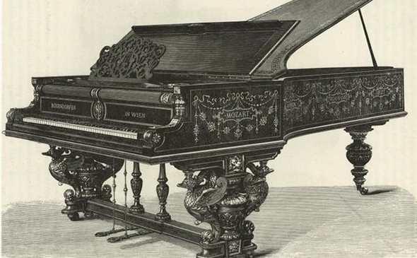 История пианино
