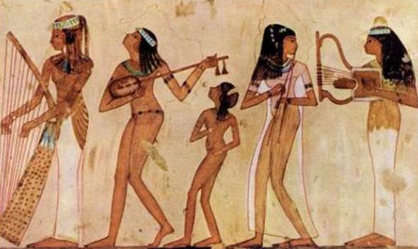 История арфы